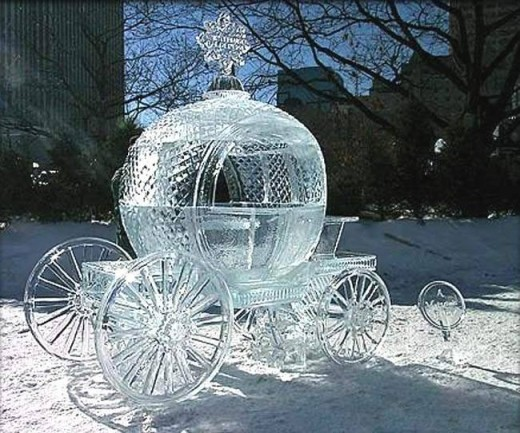 Carrozza matrimonio inverno
