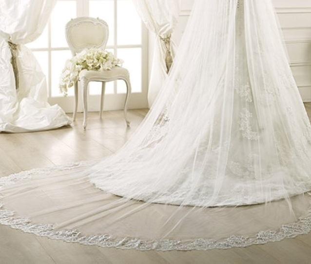 Gli accessori dell'abito da sposa: IL VELO