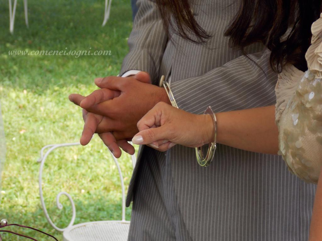 matrimonio simbolico - handfasting o legatura delle mani