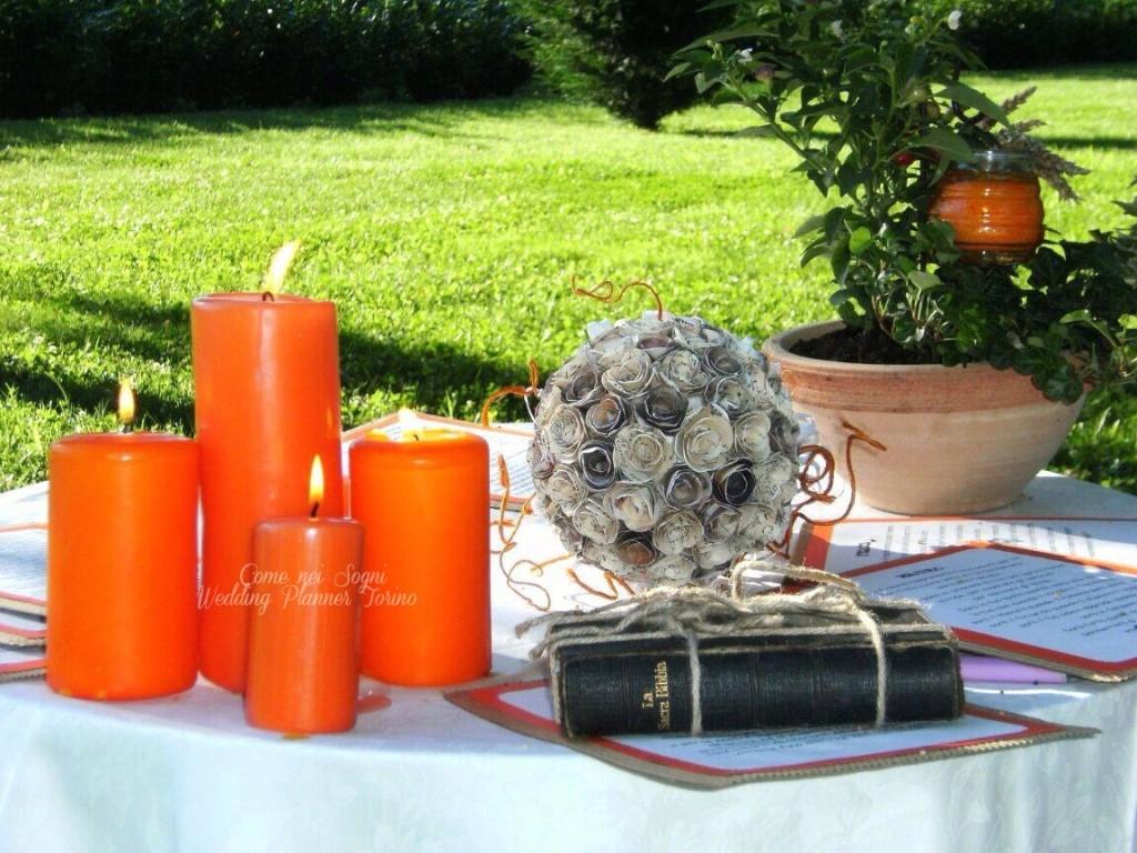 Il matrimonio simbolico: il rito della luce o delle candele.