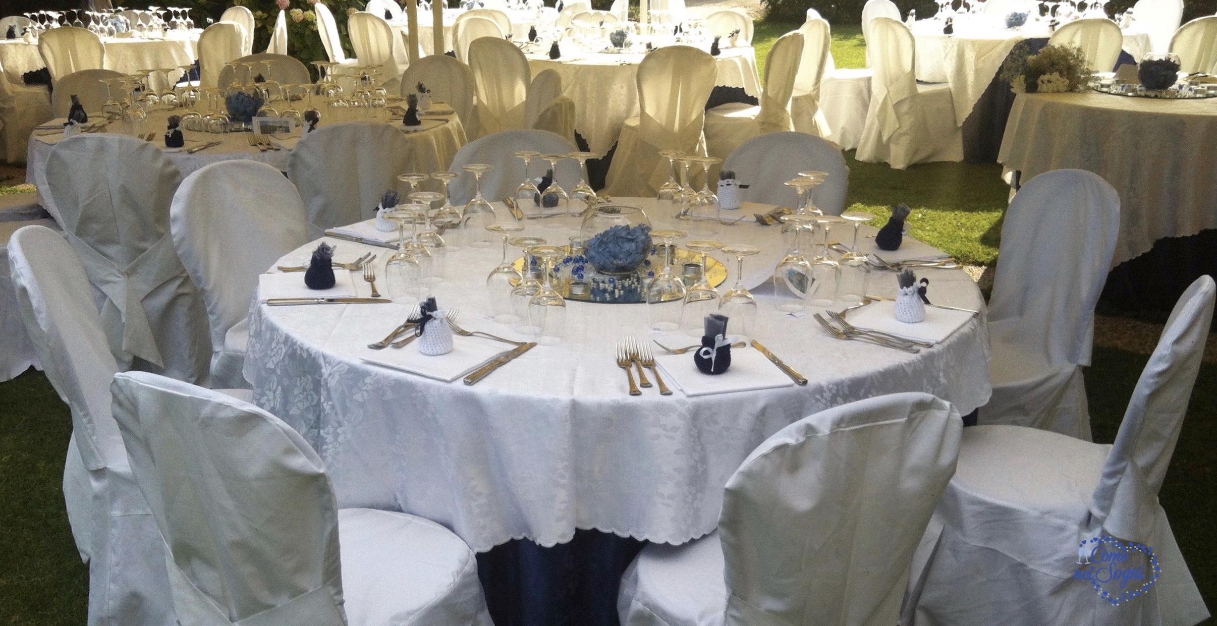 Ricevimento nuziale: scelta dei tavoli