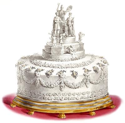La torta nuziale della regina Vittoria
